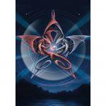 Pentagram Dragons Card
