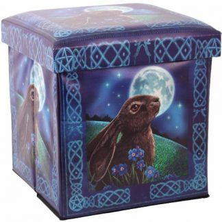 Moon Gazing Hare Storage Box