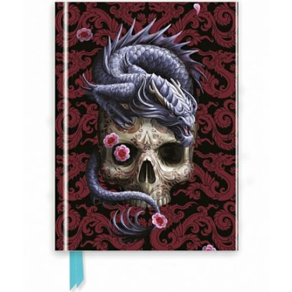 Oriental Dragon Foiled Journal