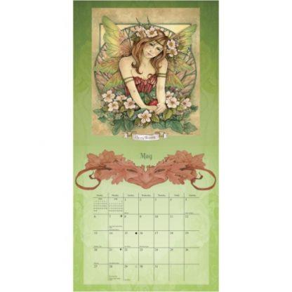 Woodland Faeries 2018 Calendar by Linda Ravenscroft May