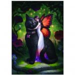 Cat and Fairy 3D Picture