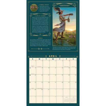 Llewellyns 2018 Tarot Calendar April