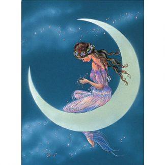 Moon Maiden Card
