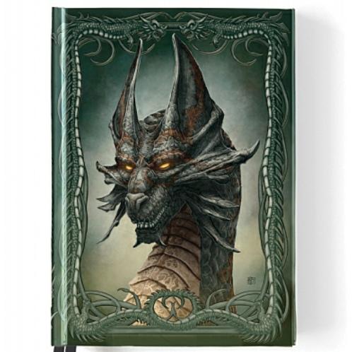 Black Dragon Foiled Journal