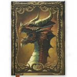 Red Dragon Foiled Journal