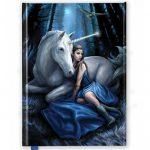Blue Moon Foiled Journal