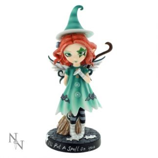 I'll Put A Spell On You Fairy Witch Figurine