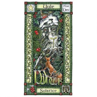 Ancient Spirit of the Forest Yule Card