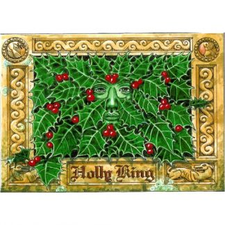 Holly King Yule Card