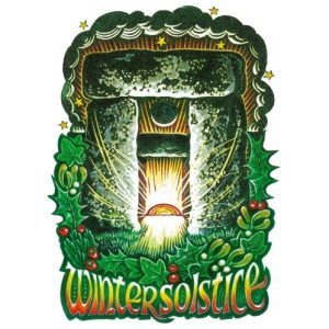 Stonehenge Winter Solstice Card