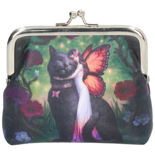 Cat and Fairy Coin Purse