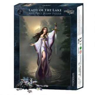 Lady of the Lake Jigsaw Puzzle