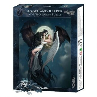 Angel and The Reaper Jigsaw Puzzle