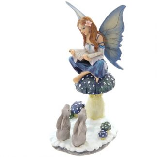 Winter Storyteller Fairy Figurine