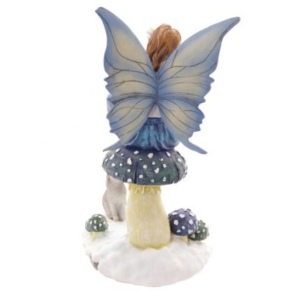 Winter Storyteller Fairy Figurine