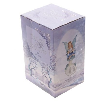Winter Storyteller Fairy Figurine Box