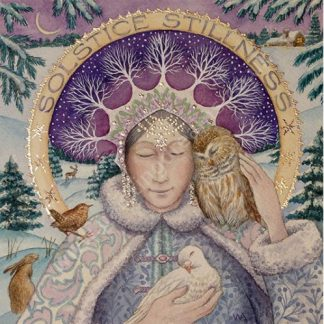 Solstice Stillness Yule Card
