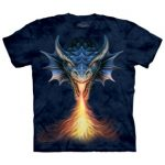 Fire Breather Dragon T Shirt