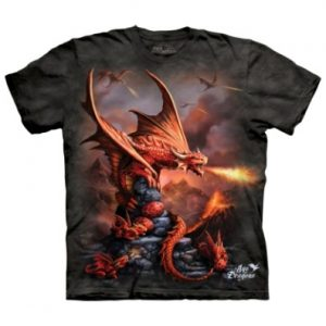Fire Dragon T Shirt