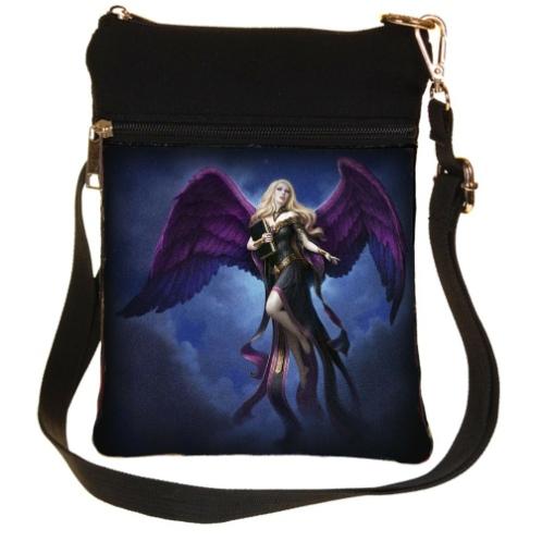 Dark Messenger Shoulder Bag