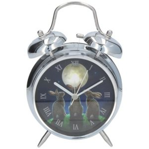 Moon Shadows Alarm Clock