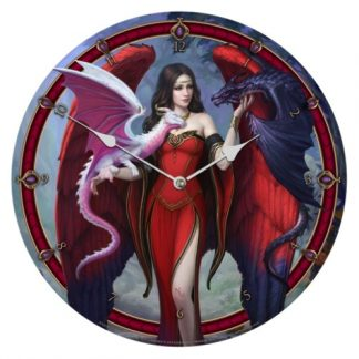 Dragon Mistress Clock