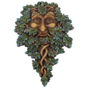 Oak Guardian Tree Spirit Plaque