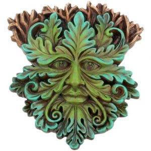 Oak King Tree Spirit Plaque