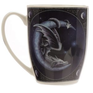 Sweet Dreams Dragon and Moon Mug
