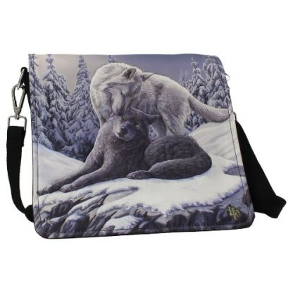 Snow Kisses Embossed Shoulder Bag