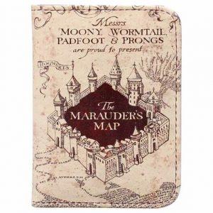 Marauders Map Travel Pass Holder