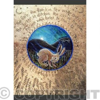 The Names of the Hare Card