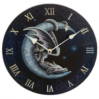 Sweet Dreams Dragon and Moon Clock