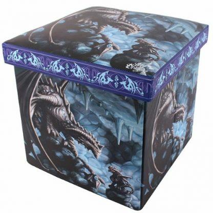 Rock Dragon Storage Box