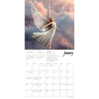Spirit Guides Mini Anne Stokes Calendar 2019 January