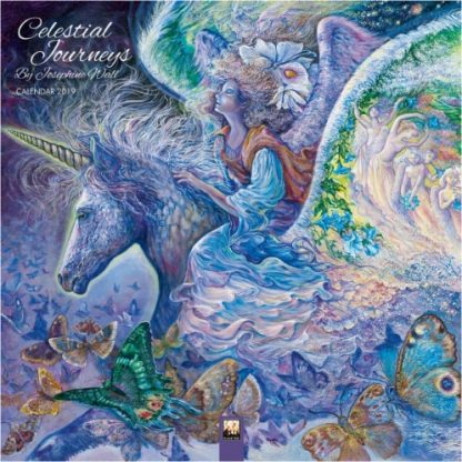 Celestial Journeys by Josephine Wall Calendar 2019