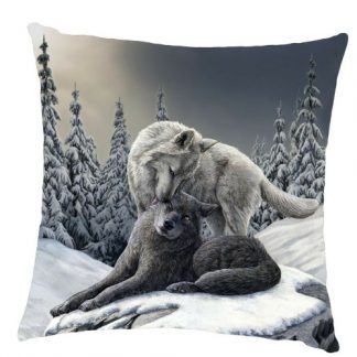 Snow Kisses Cushion