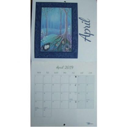 Amanda Clark Seasons Calendar 2019 April