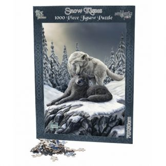 Snow Kisses Jigsaw Puzzle
