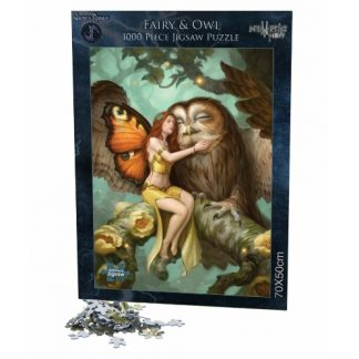 Fairy and Owl Jigsaw Puzzle