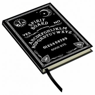 Black and White Spirit Board Embossed Journal