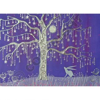 Tree of Stars Yule Card