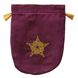 Celtic Pentacle Tarot Bag