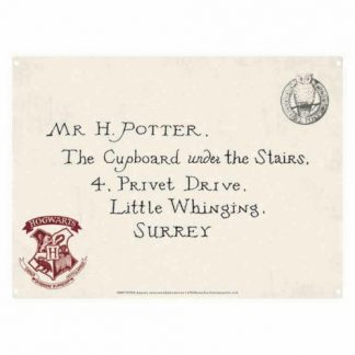 Harry Potter Letter Tin Sign