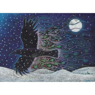 Yule Crow Yule Card