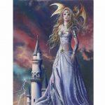 Asiria Spark Canvas Picture