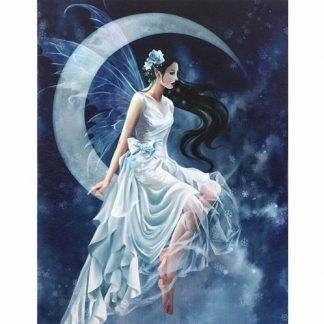 Frost Moon Canvas Picture