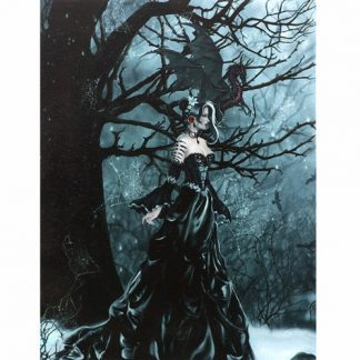 Queen of the Shadows Canvas Picture