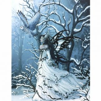 Queen of the Owls Canvas Picture
