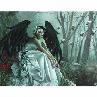 Swan Song Canvas Picture